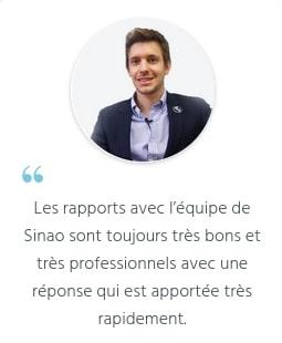 Avis de Brice Lemoine, maire du village by CA Sinao