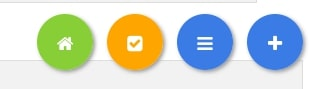 Les boutons en bas de page INCWO