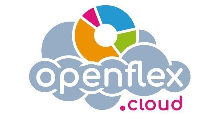 Logo d'Openflex meilleurs logiciels gestion commerciale